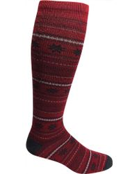 Woolrich - Merino Snowflake Novelty Knee Hi Sock (2 Pairs) - Lyst