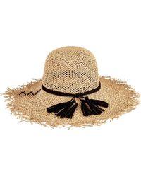 24ed5f148a426 San Diego Hat Company - Open Weave Seagrass Floppy Hat Sgf2016 - Lyst
