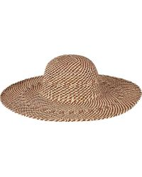 San Diego Hat Company - Open Weave Round Crown Floppy Hat Pbl3080 - Lyst