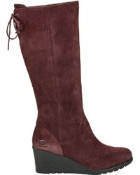 5a2cd37c4cf Lyst - Ugg ® Robbie Boots in Brown