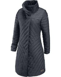 Merrell - Inertia Long Quilted Coat - Lyst