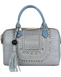 Nicole Lee - Anouska Braided Intricate Cutout Design Boston Bag - Lyst ab1e1118e264d