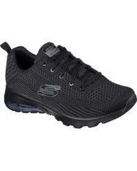 3ec43c32811f Lyst - Nike Air Max 97 Se (gs) Black  White-varsity Red in Black