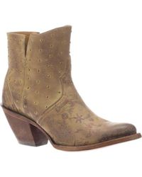8d59a400b773 Lyst - Jimmy Choo Harley 30 Leather Cut-out Boots in Brown
