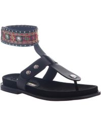 Poetic Licence - Sand T Strap Thong Sandal - Lyst