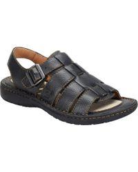 37f914fd2bdacf Born - Joshua - Lyst. Born. Joshua.  100. Shoes.com · Born - Joshua (black  Full Grain Leather) Men s Sandals ...