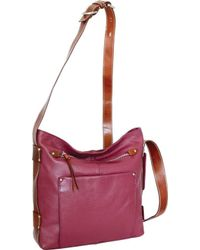 5f9f9ef610d6 Lyst - Nino Bossi Hazeline Leather Cross Body Bag