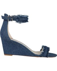 Kenneth Cole - Davis Wedge Sandal - Lyst