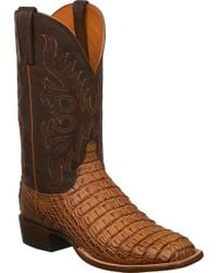 Lucchese Bootmaker - Fisher W Toe Cowboy Boot - Lyst