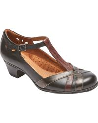 Rockport - Cobb Hill Angelina T-strap - Lyst