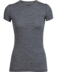Icebreaker - Sprite Short Sleeve Crewe Shirt Stripe - Lyst