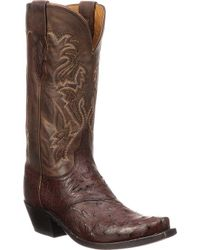 Lucchese Bootmaker - M5603.s54 Spring Snip Toe Cowboy Heel Boot - Lyst