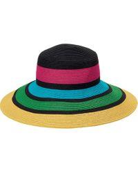 San Diego Hat Company - Stripes Sun Brim Hat Ubl6811 - Lyst 16802f3831ae