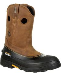 Georgia Boot - Gb00243 Muddog Composite Toe Wp Wellington Boot - Lyst
