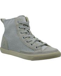 299f0b530ece6 Lyst - Sam Edelman Britt High-Top Sneakers in Brown