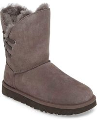d234024c68d Lyst - UGG Ugg Constantine Genuine Shearling Boot in Black