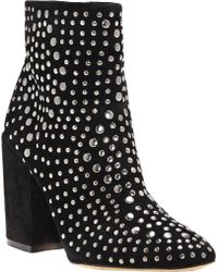 Vince Camuto - Drista Studded Bootie - Lyst