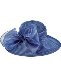 San Diego Hat Company - Poly Dress Hat With Oversized Bow Drs1010 - Lyst