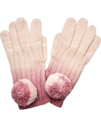 San Diego Hat Company - Ombre Dye Knit Glove With Pom Kng3516 - Lyst