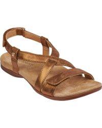 Spenco - Cross-strap Sandal - Lyst