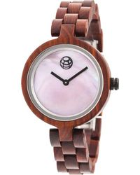 Earth Wood - Wisteria Bracelet Watch - Lyst