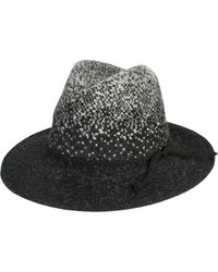San Diego Hat Company - Colorblock Knit Fedora Knh3617 - Lyst