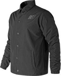 New Balance - Mj81590 Classic Coaches Jacket - Lyst
