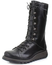 Fly London - Ster Lace Up Boots - Lyst