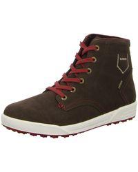 Lowa Lace-up Boots 410546 Braun/rot Dublin Gtx Qc 410546/4542 - Brown