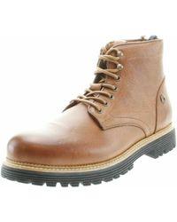dfb86c358 Tommy Hilfiger - Lace-up Boots Brown Schnürstiefel Fm0fm00804 - Lyst