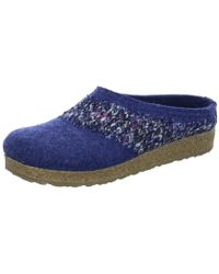 94932bcb7a2 Haflinger - Wo Slippers Blue Grizzly Anke - Lyst