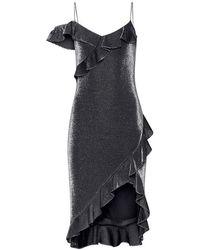 Likely - Evangeline Dress Silver - Lyst