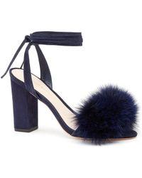 Loeffler Randall | Nicolette Fur Sandal | Lyst