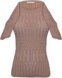 Jonathan Simkhai | Lacy Crochet Cold Shoulder Top | Lyst