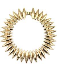 Tuleste - Talon Necklace Gold - Lyst