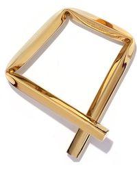 Proenza Schouler - Light Gold Small Square Bracelet - Lyst