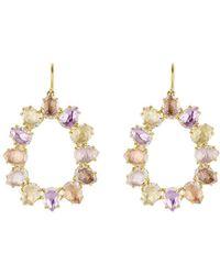 Larkspur & Hawk - Caterina Small Frame Earring - Lyst