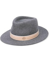 Lyst - Maison Michel Andre Hat in Gray 0b8bef3d6911