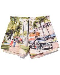 Monse - Multicolor Scenic Print Short - Lyst