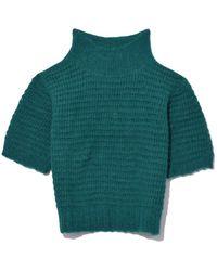 Rachel Comey - Green Emerald Cropped Tee - Lyst
