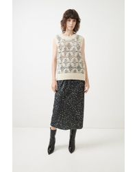 A Detacher - Singrid Haze Print Skirt - Lyst