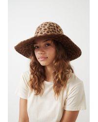 Lola Hats - Leopard Biba Fur Felt Hat - Lyst