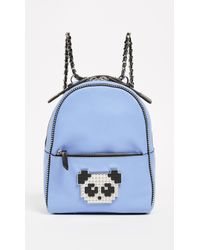 Les Petits Joueurs | Baby Mick Metal Panda Backpack | Lyst
