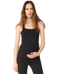 Ingrid & Isabel - Active Racerback Maternity Tank - Lyst