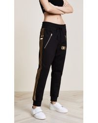 Baja East - Drawstring Trousers With Zip Pockets - Lyst