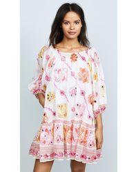 Juliet Dunn - Embroidered Dress - Lyst