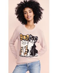 Michaela Buerger - Kitties Sweater - Lyst