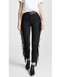 Mother - The Swooner Ankle Jeans - Lyst