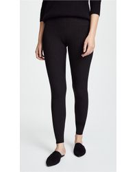 Vince - Ribbed Leggings - Lyst