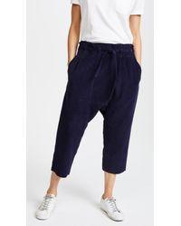 OAK - Cropped Karate Pants - Lyst